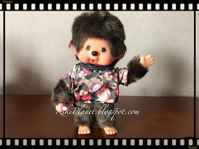 kiki monchhichi t-shirt vêtement poupée plus secret, café, tokyo, exclusif édition limitée