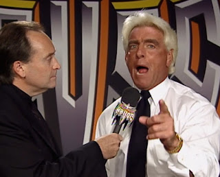 WCW Halloween Havoc 1998 - Mike Tenay interviews Nature Boy Ric Flair