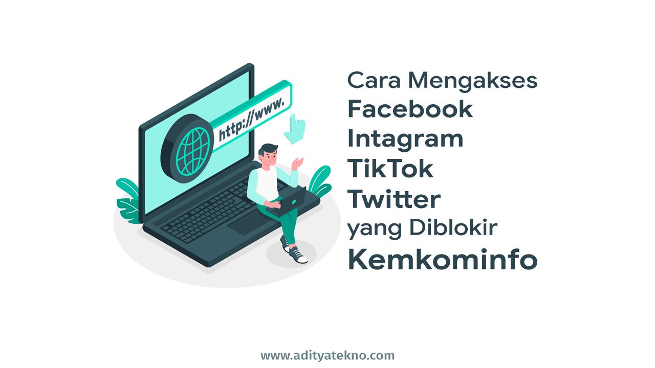 Cara Agar Kuota Belajar Kemendikbud dapat Mengakses Facebook, Instagram, TikTok, Twitter