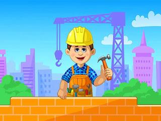 لعبة بناء البيوت الرائعة