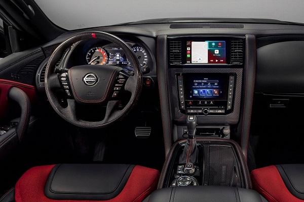 Interior Nissan Patrol Nismo