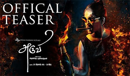 Aruvi – Official Teaser | Arun Prabu | Bindhu Malini, Vedanth | Dream Warrior Pictures