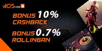 Cashback Sportbook 10%