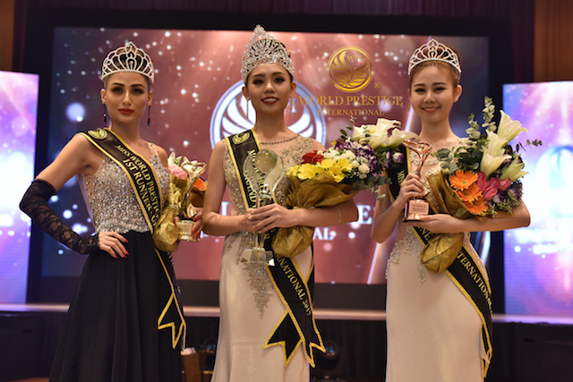 Congratulations to the winners for Miss World Prestige International Pageant 2017 this year!