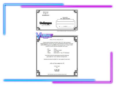 Download File Undangan Pernikahan Walimatul Ursy Lipat 3 Word Simpel