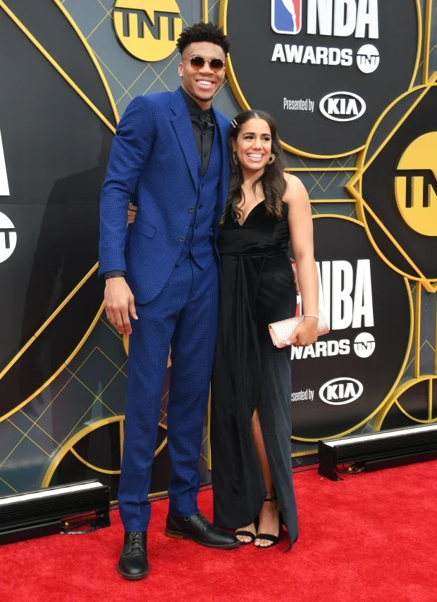 NBA MVP Gianni Antetokounmpo Flaunts Beautiful Girlfriend ...