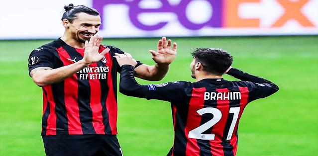 Milan vs Sparta Praha – Highlights
