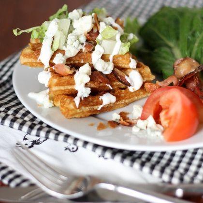 Wedge Salad Waffles