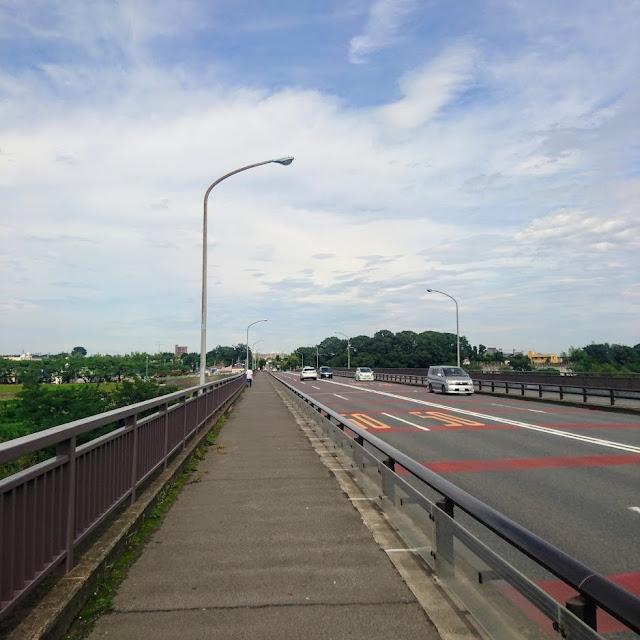 睦橋 多摩川