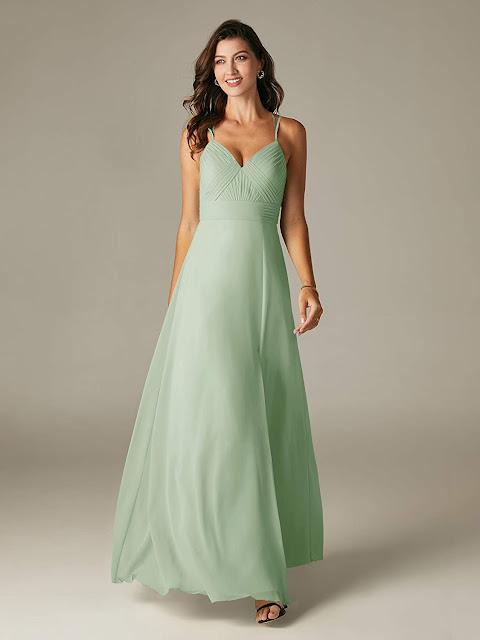 Best Green Chiffon Bridesmaid Dresses