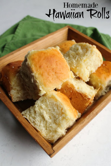 The most soft and tender slightly sweet rolls are easier to make at home that you'd think. These homemade Hawaiian rolls feature a hint of pineapple and are super delicious!