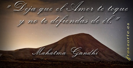 Frases de amor - Mahatma Gandhi