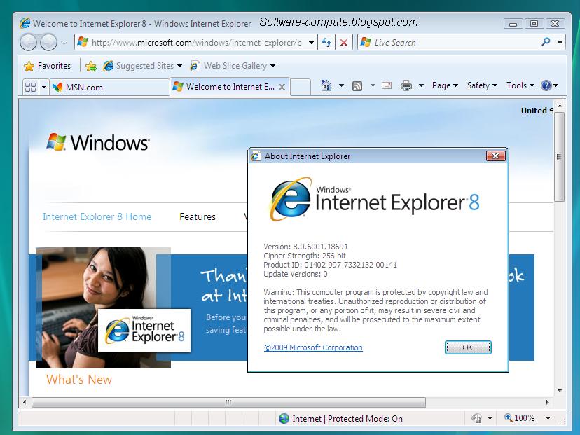 Internet Explorer Latest Version Free Download XP ...