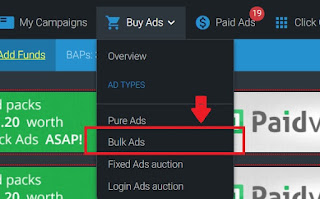 How to buy PTCshare Bulk Ads