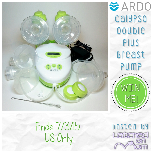 Latched On Mom Ardo Calypso Double Plus Breast Pump Review Giveaway