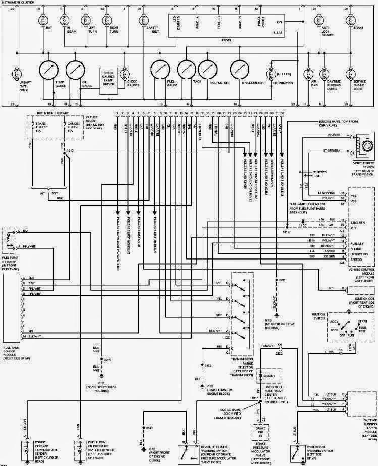 chevy c1500 headlight wiring diagram