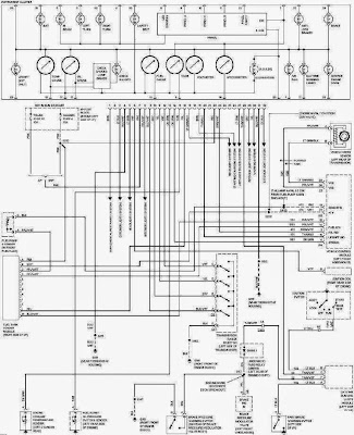 GMC Sierra C1500 Instrument Cluster Wiring Diagram Electrical