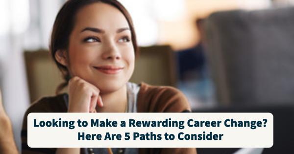 Rewarding career change