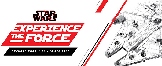An epic 10-day Star Wars Experience The Force festival is headed to Singapore this September