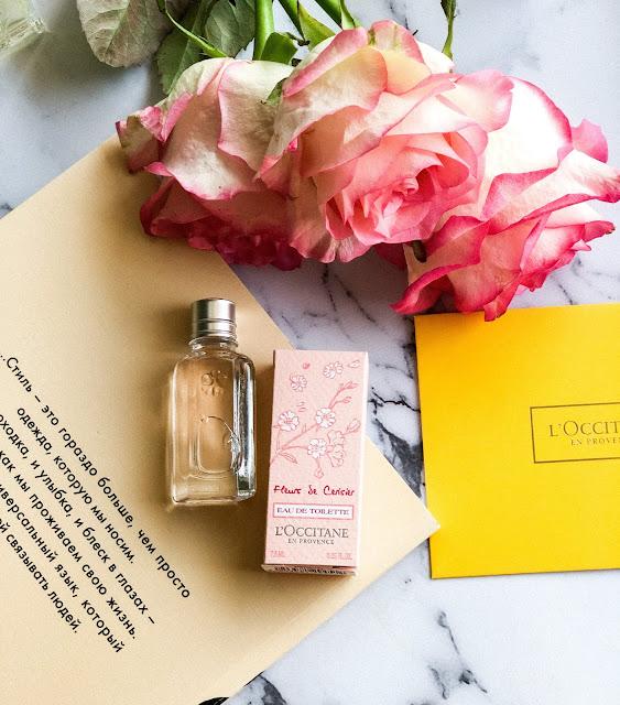 Моя мини коллекция ароматов L'Occitane Вишневый цвет