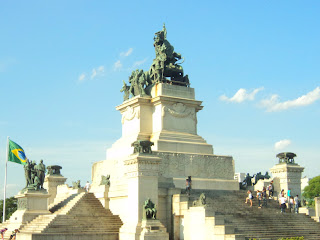 O Monumento à Independência do Brasil, São Paulo