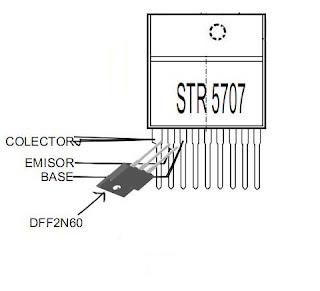 طريقة التعديل على STR6707 6707S