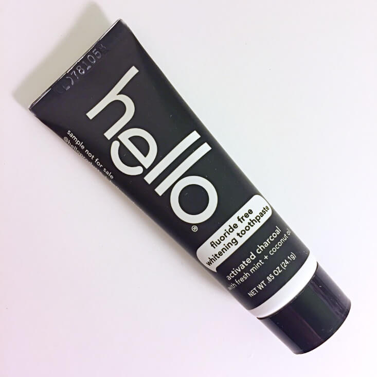 Hello Activated Charcoal Whitening Toothpaste