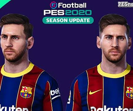 PES 2020 Face Lionel Messi