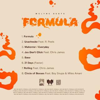 Mclyne Beats - Formula tracklist