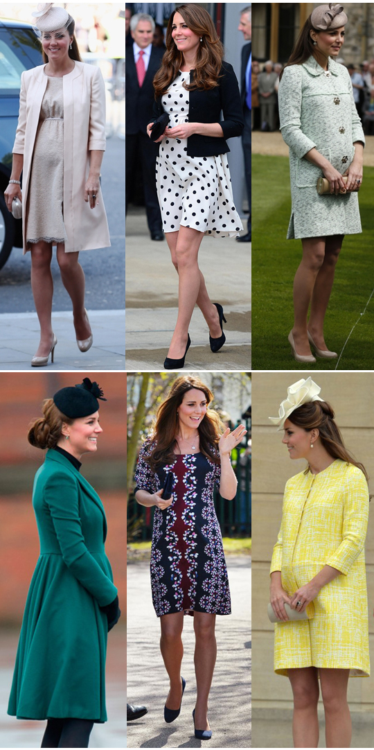 Hello Jack Blog: Kate Middleton's Best Pregnancy Looks