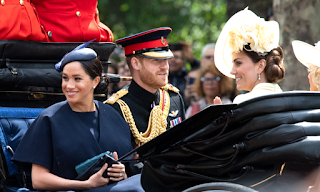 Meghan pops out of maternity leave