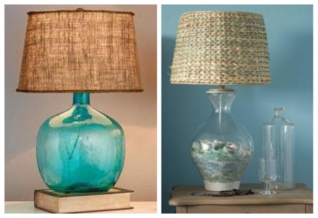 BASE - BOTTLES TABLE LAMPS