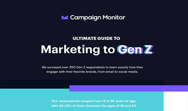 The Ultimate Guide to Marketing to Gen Z #infographic