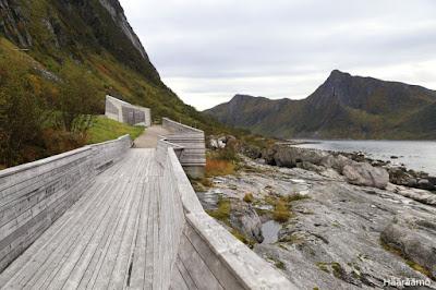 Tungeneset, Senja, Pohjois-Norja
