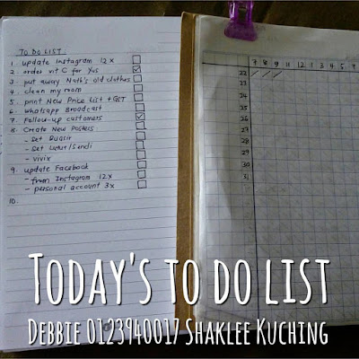 To-Do List Bulanan dan Checklist Update Instagram