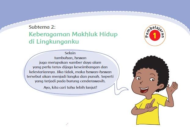 Materi dan Kunci Jawaban Tematik Kelas  Kunci Jawaban Tematik Kelas 4 Tema 3 Subtema 2 Halaman 48, 49, 50, 52