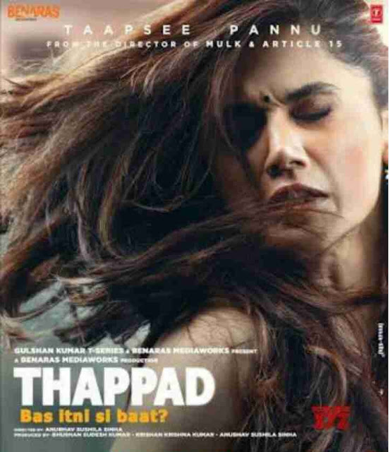 Thappad Movie 2020 Story Cast Review and Release Date