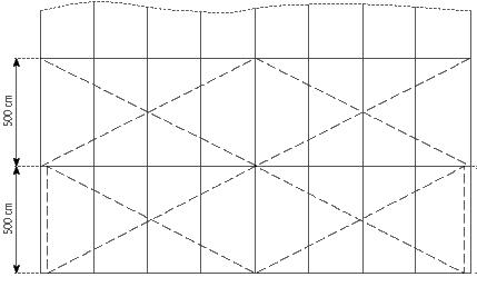 Gambar Teknis Tenda Roder Standar