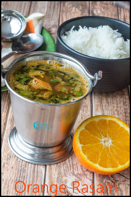 Orange Rasam Recipe