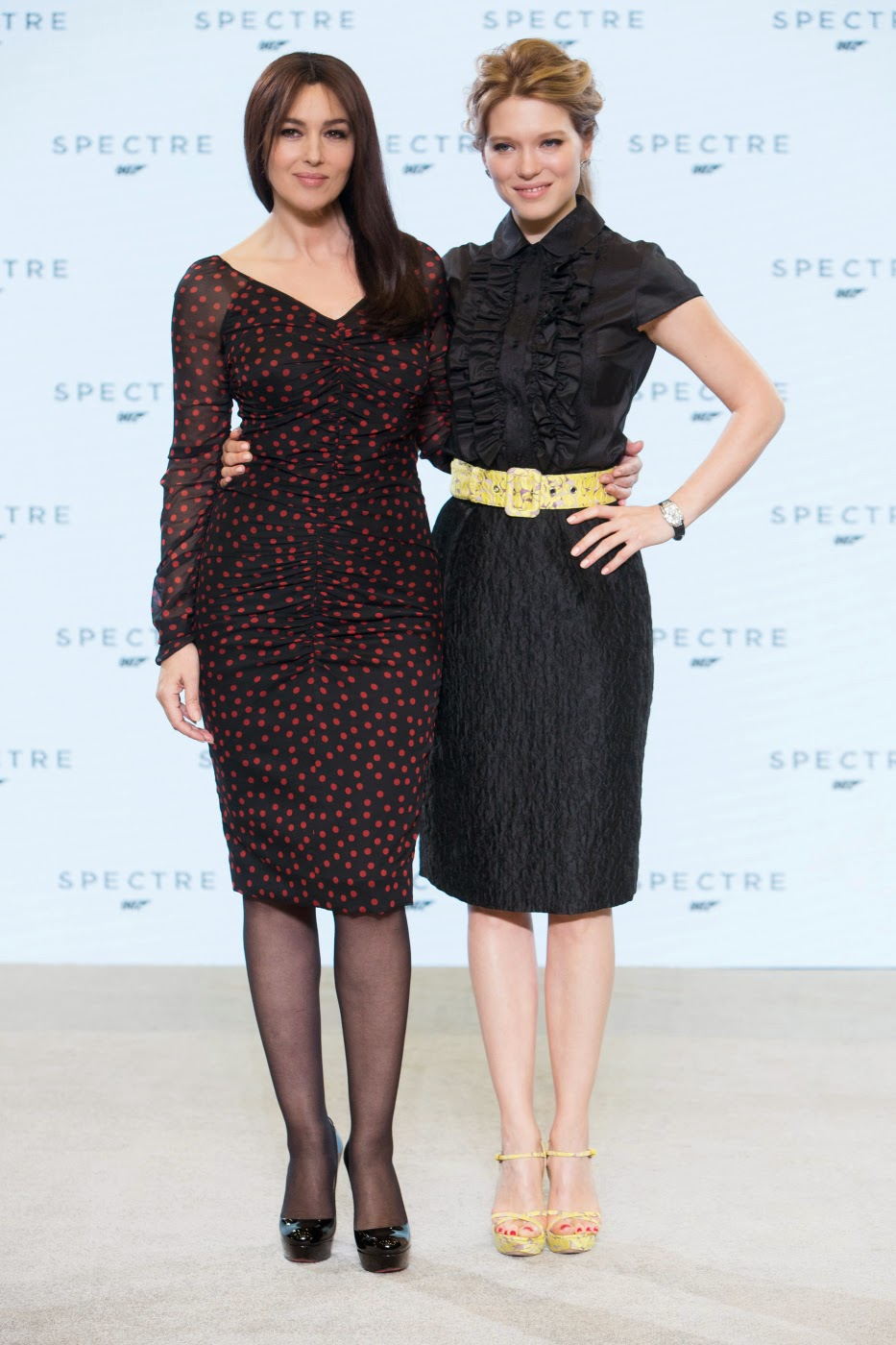 James Bond 007 SPECTRE: Monica Bellucci und Léa Seydoux