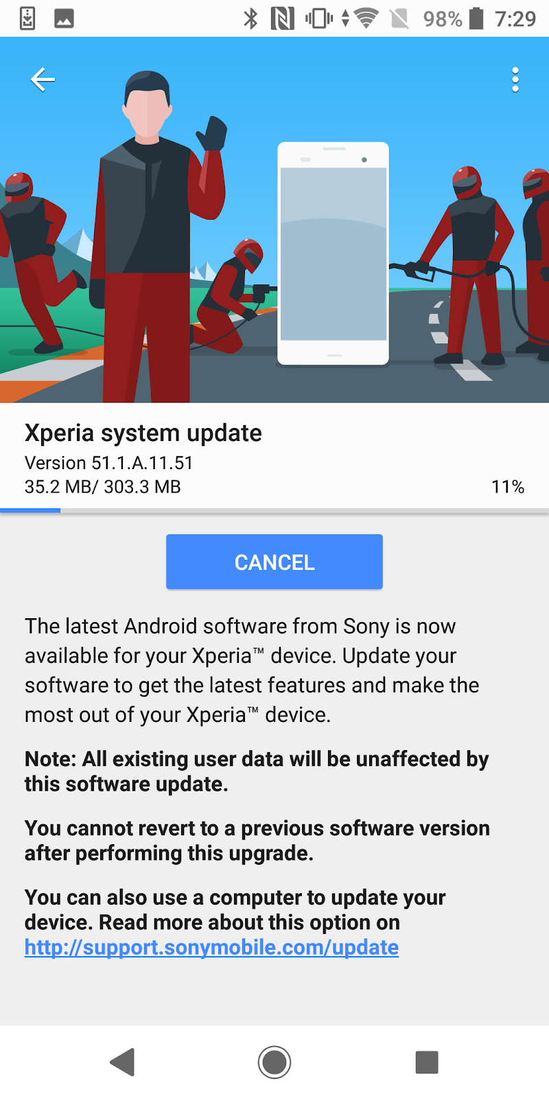 Sony's Xperia XZ2 gets a software update ~ Android Coliseum