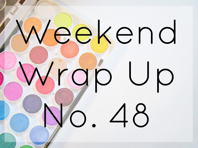 Weekend Wrap Up No. 48