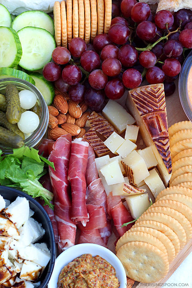 How to Make The Best Charcuterie Board (Meat and Cheese Platter) with Seasonal Ingredients