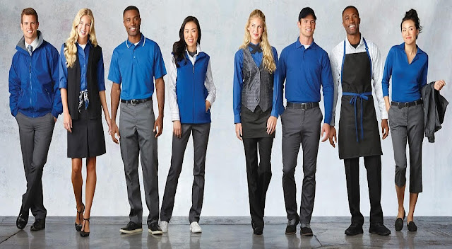sales and service staff uniforms