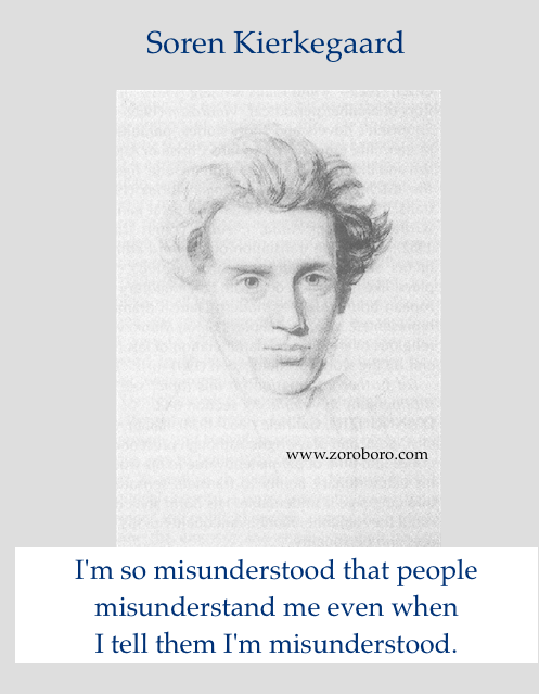 Soren Kierkegaard Quotes. Life, Love, Passion Quotes. Soren Kierkegaard Philosophy. Oneliner Words Status,inspirational quotes,motivaitonal quotes,images
