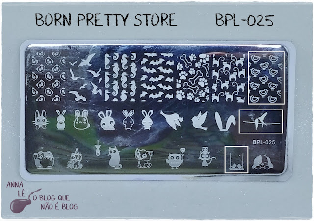 Born Pretty Store BPL-025 Stamping Plate