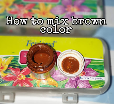 How To Mix Brown Color