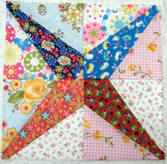 Attic Window Quilt Shop A Very Easy Paper Pieced Block