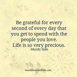 Focus on your blessings. List them down, appreciate each one and allow peace and gratitude to fill your heart