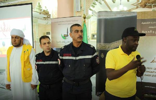 الحماية المدنية تلقي محاضرة توعوية بدرس الجمعة بجامع السعودية بالشلف